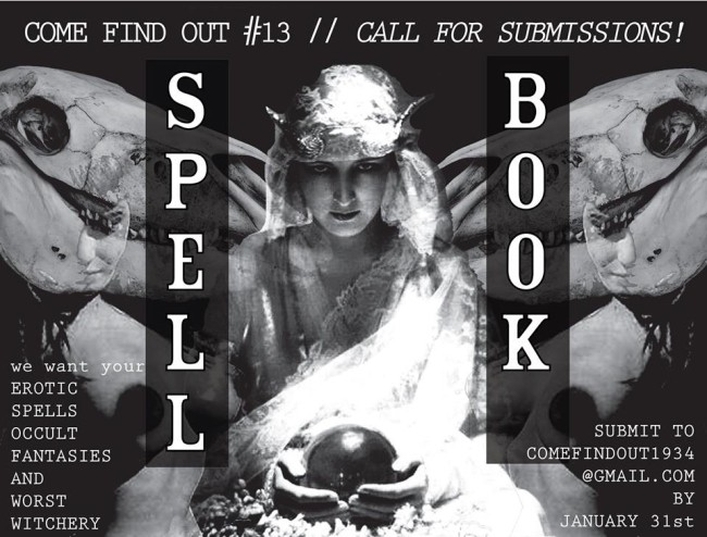 Open Call for Submissions for Come Find Out #13