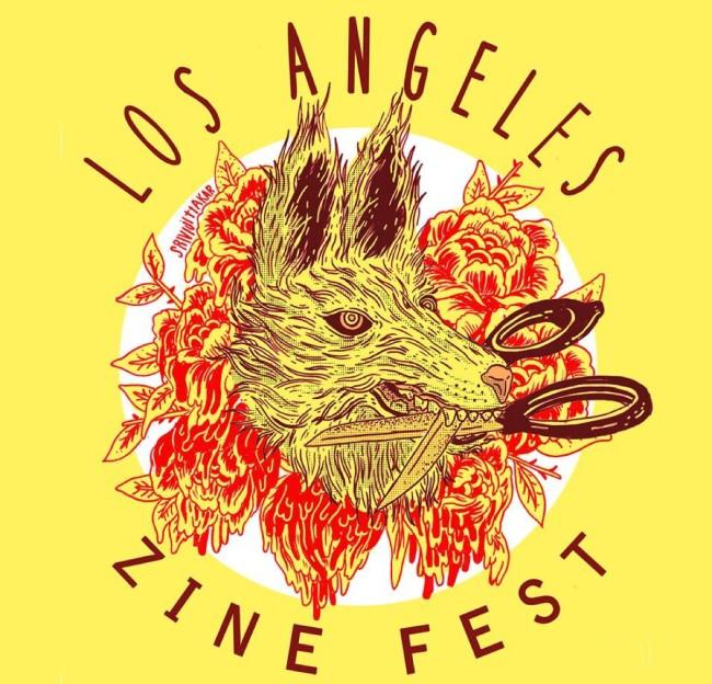 Los Angeles Zine Fest Logo Made by Kenny Srivijittakar of Tiny Spendor