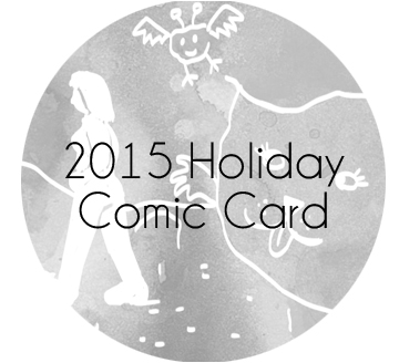 Yearly Holiday Comic Book Card 2015