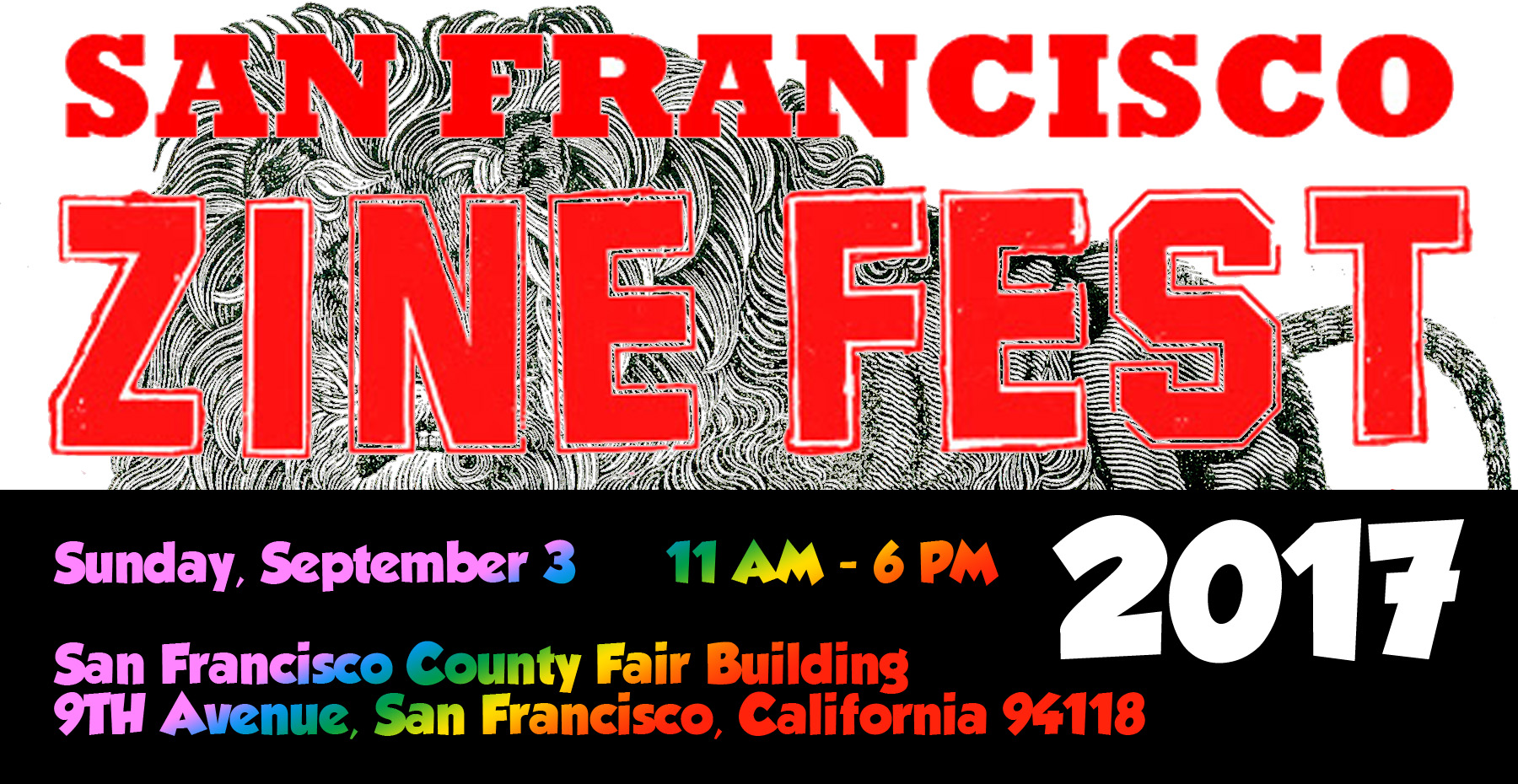 2017 San Francisco Zine and Alternative Book Fest