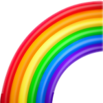 Rainbow Emoji for our ASMR videos