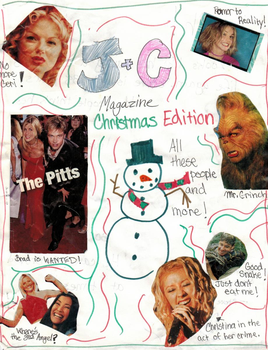 J+C Magazine: Volume 3, Page 1