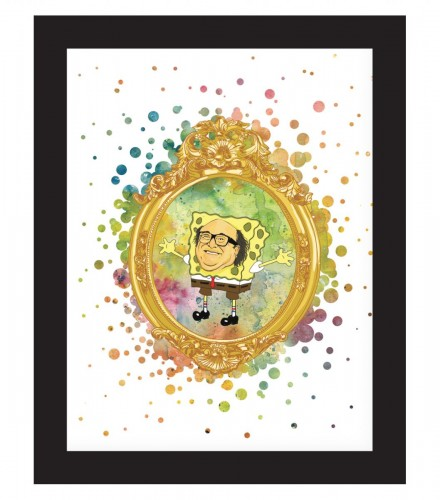 Frank Reynolds as Pikachu